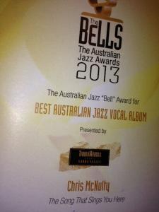 Best Australian Jazz Vocal Album